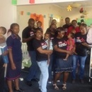 The Edgars CCS team with the children at Queen Elizabeth Children's Home