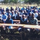 Ramofu School pupils enjoy their new desks